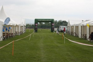 tented village